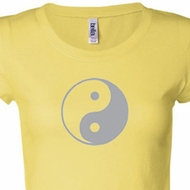 Yin Yang Ladies Yoga T-shirts