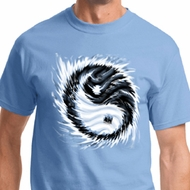 Yin Yang Sun Mens Yoga Shirts