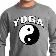 Yin Yang Yoga Arch Kids Long Sleeve