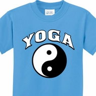 Yin Yang Yoga Arch Kids Shirts