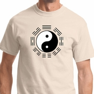 Ying Yang Trigrams Mens Yoga Shirts