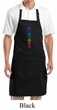 Yoga Apron 7 Colored Chakras Full Length Apron with Pockets