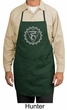 Yoga Apron Vishuddha Chakra Meditation Full Length Apron with Pockets
