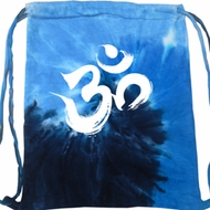 Yoga Bag Brushstroke Aum Tie Dye Bag