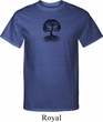 Yoga Black Celtic Tree Mens Tall Shirt
