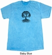 Yoga Black Celtic Tree Mineral Tie Dye Shirt