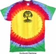 Yoga Black Celtic Tree Premium Tie Dye Shirt