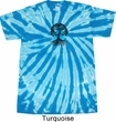 Yoga Black Celtic Tree Twist Tie Dye Shirt