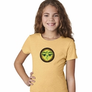 Yoga Buddha Eyes Patch Girls Shirt