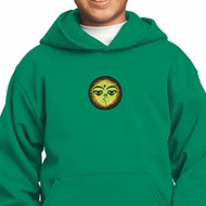Yoga Buddha Eyes Patch Kids Hoodie