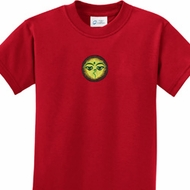 Yoga Buddha Eyes Patch Kids Shirt