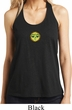 Yoga Buddha Eyes Patch Ladies Loop Back Tank Top