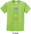Yoga Chakra Words Kids Shirt