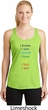 Yoga Chakra Words Ladies Moisture Wicking Racerback Tank Top