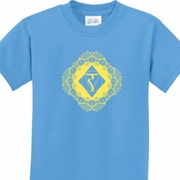 Yoga Diamond Manipura Kids Shirts
