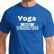 Yoga Funny Saying Mens Yoga Shirts