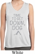 Yoga Get Down Dog Ladies Sleeveless Moisture Wicking Shirt