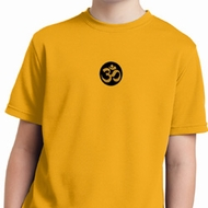 Yoga Gold AUM Patch Kids Moisture Wicking Shirt
