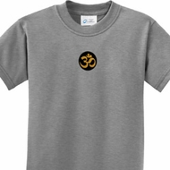 Yoga Gold AUM Patch Kids Shirt