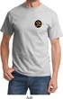 Yoga Gold AUM Patch Pocket Print Adult Shirt
