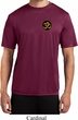 Yoga Gold AUM Patch Pocket Print Mens Moisture Wicking Shirt
