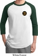 Yoga Gold AUM Patch Pocket Print Mens Raglan Shirt