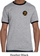 Yoga Gold AUM Patch Pocket Print Mens Ringer Shirt