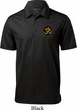 Yoga Gold AUM Patch Pocket Print Mens Textured Polo Shirt