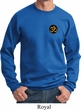 Yoga Gold AUM Patch Pocket Print Sweatshirt