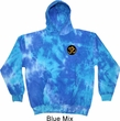Yoga Gold AUM Patch Pocket Print Tie Dye Hoodie