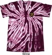 Yoga Gold AUM Patch Pocket Print Twist Tie Dye Shirt
