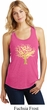 Yoga Gold Foil Tree of Life Ladies Racerback Tank Top