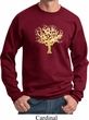 Yoga Gold Foil Tree of Life Sweatshirt