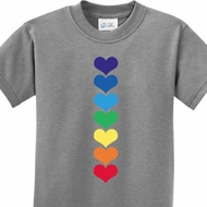 Yoga Heart Chakras Kids Shirt