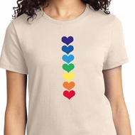 Yoga Heart Chakras Ladies Shirt