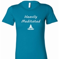 Yoga Heavily Meditated Ladies Longer Length Shirt