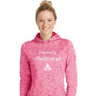 Yoga Heavily Meditated Ladies Moisture Wicking Hoodie