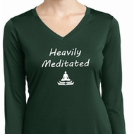 Yoga Heavily Meditated Ladies Moisture Wicking Long Sleeve