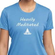 Yoga Heavily Meditated Ladies Moisture Wicking Shirt