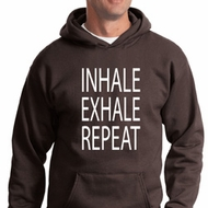 Yoga Inhale Exhale Repeat Hoodie