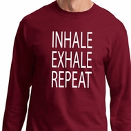 Yoga Inhale Exhale Repeat Long Sleeve Shirt
