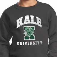 Yoga Kale University Darks Kids Sweatshirt