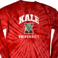Yoga Kale University Darks Long Sleeve Tie Dye Shirt