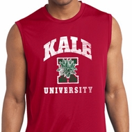 Yoga Kale University Darks Mens Sleeveless Moisture Wicking Shirt
