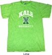 Yoga Kale University Darks Mineral Tie Dye Shirt