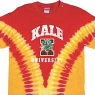 Yoga Kale University Darks Premium Tie Dye Shirt