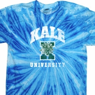 Yoga Kale University Darks Twist Tie Dye Shirt
