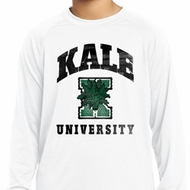 Yoga Kale University Lights Kids Dry Wicking Long Sleeve Shirt