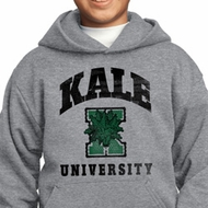Yoga Kale University Lights Kids Hoodie