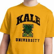 Yoga Kale University Lights Kids Moisture Wicking Shirt